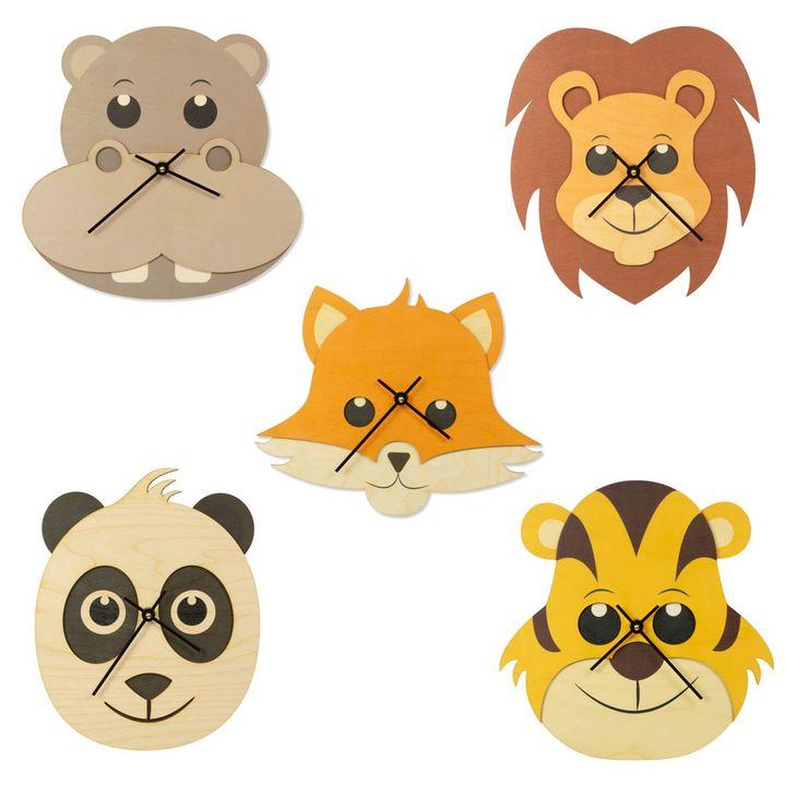 Cut Animal Clocks