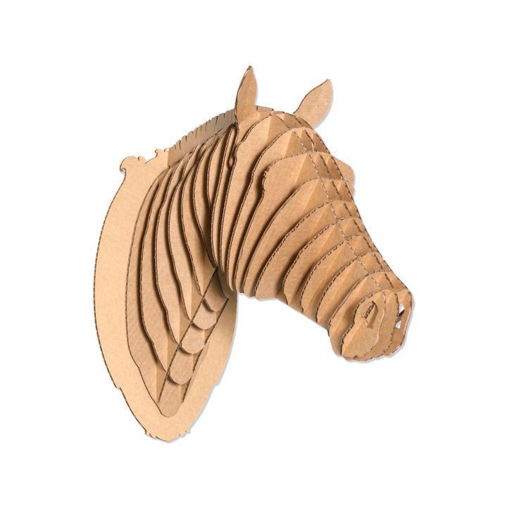 Pippin The Cardboard Horse Head