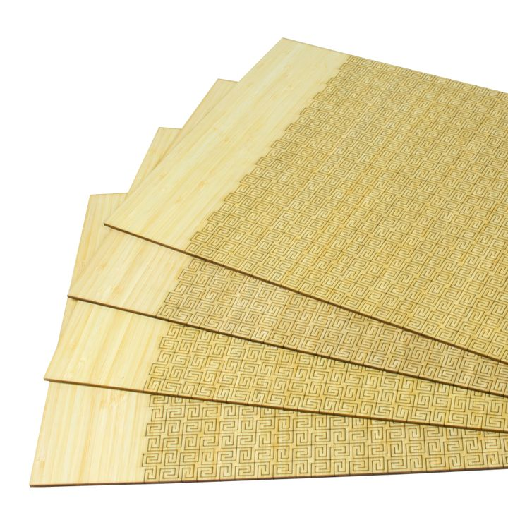 Living Hinge Bamboo Placemat