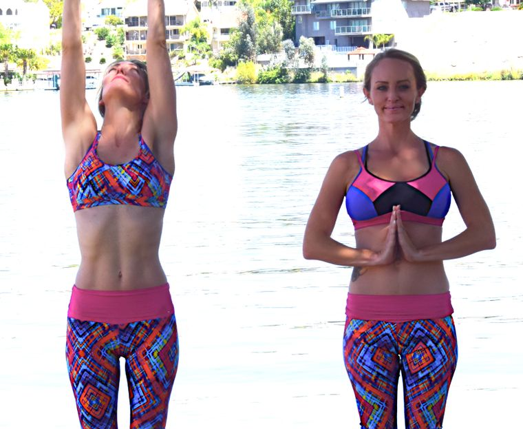 women's yoga and active wear clothes