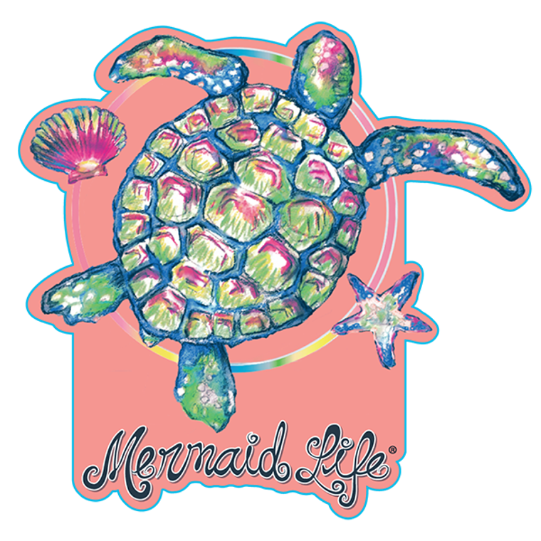 Mermaid Life Stickers