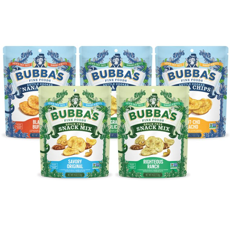 Bubba's VEGAN & No-Added Sugar Collection