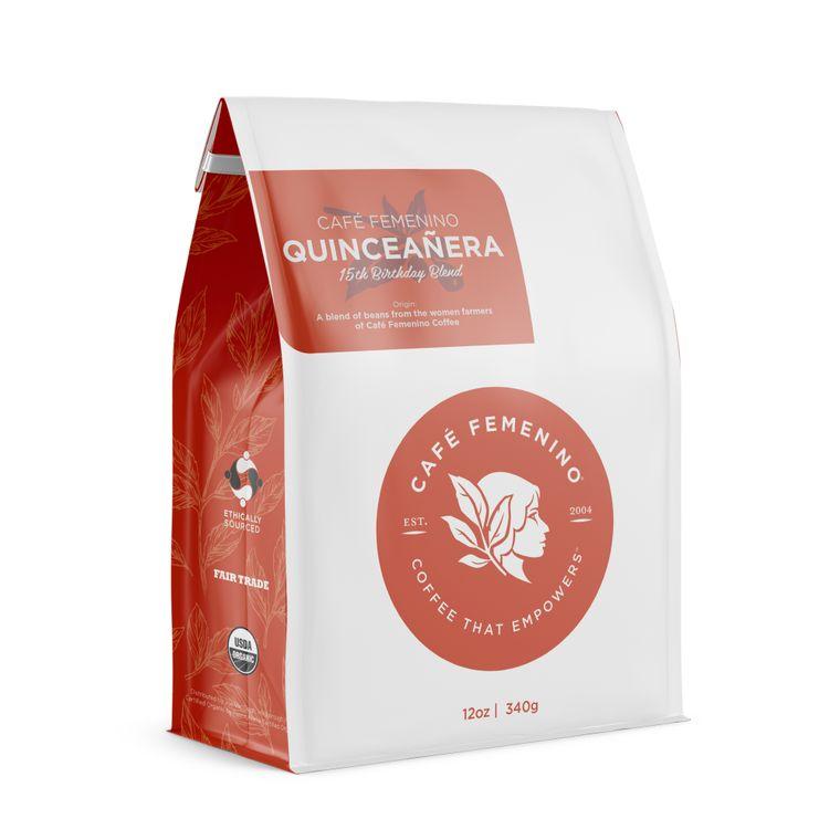 Café Femenino Quinceañera Blend Whole Bean Coffee