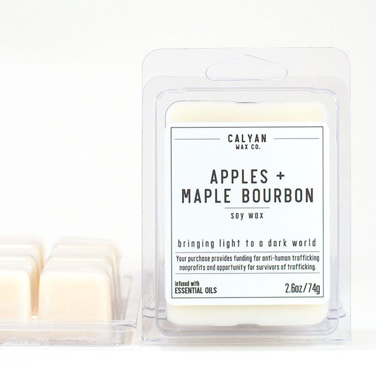 Soy Wax Melt - Apples / Maple Bourbon