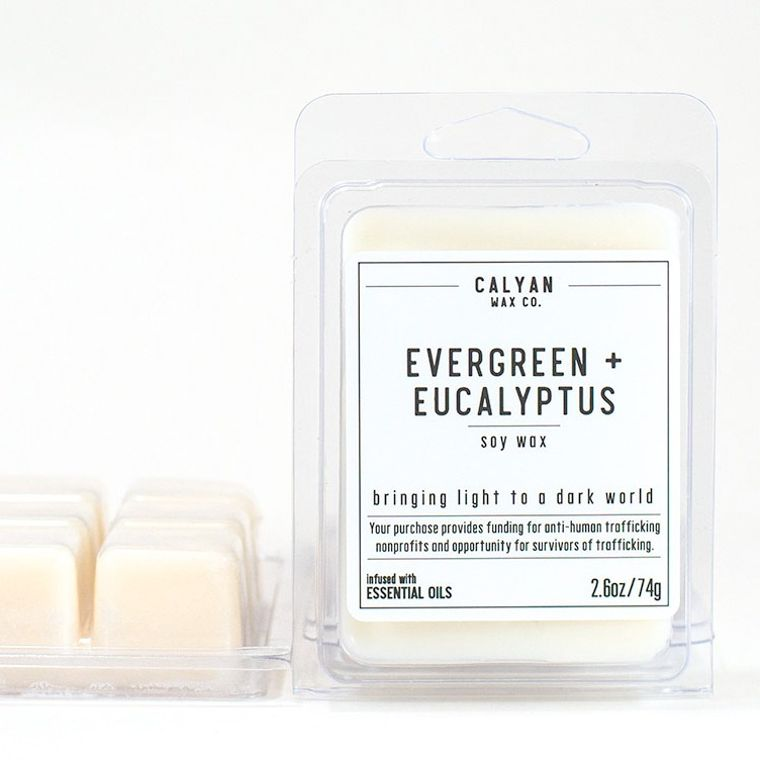 Soy Wax Melt - Evergreen / Eucalyptus
