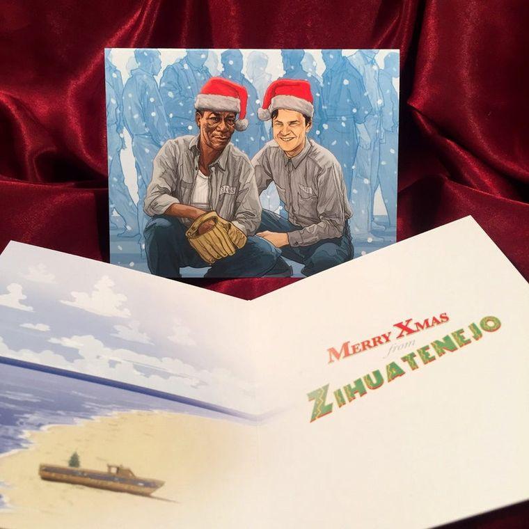 SHAWSHANK REDEMPTION Christmas Card