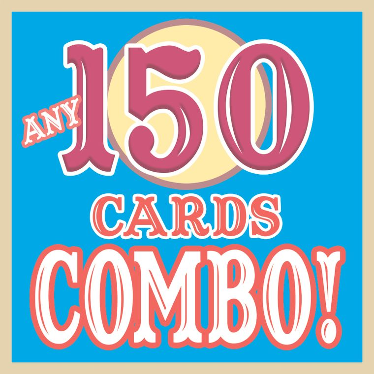 ANY 150 CARDS Discount COMBO