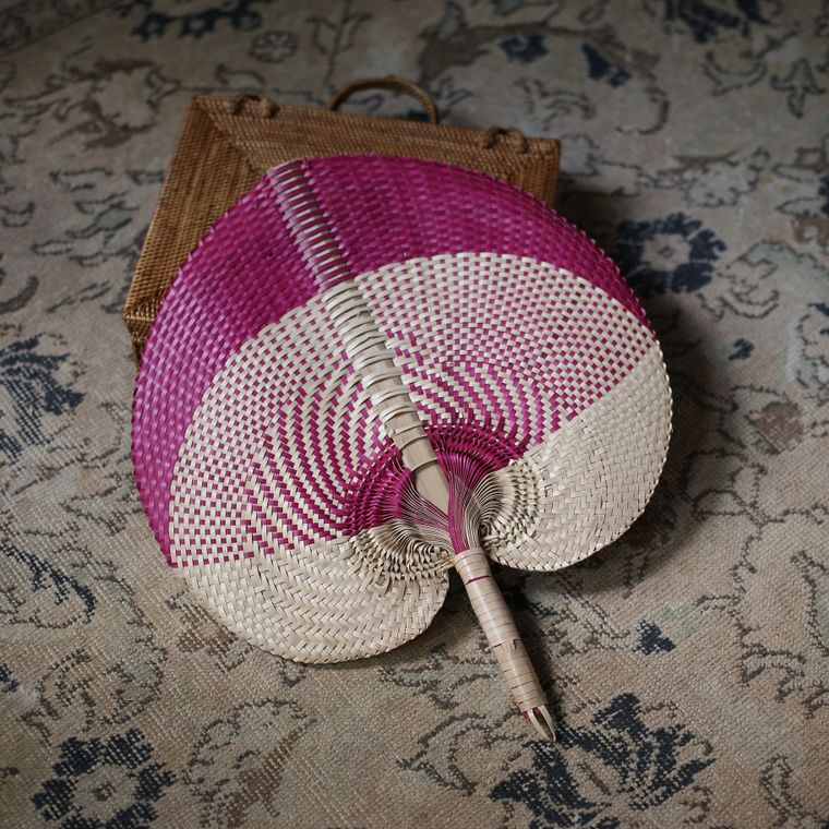 Aphrodite Balinese Woven Fans (Large)