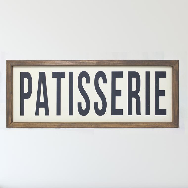 Patisserie Framed Sign