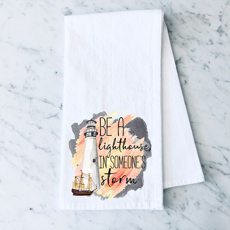 The the Change you want to See in the World Sunflower Cotton Flour Sack Towel