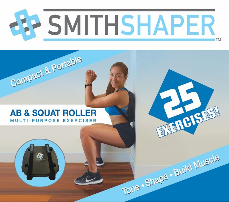 SmithShaper Rolling Ab / Squat Exerciser