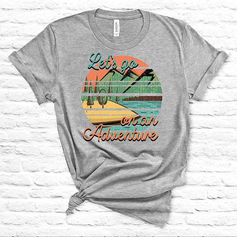 Let's Go on an Adventure T-shirt