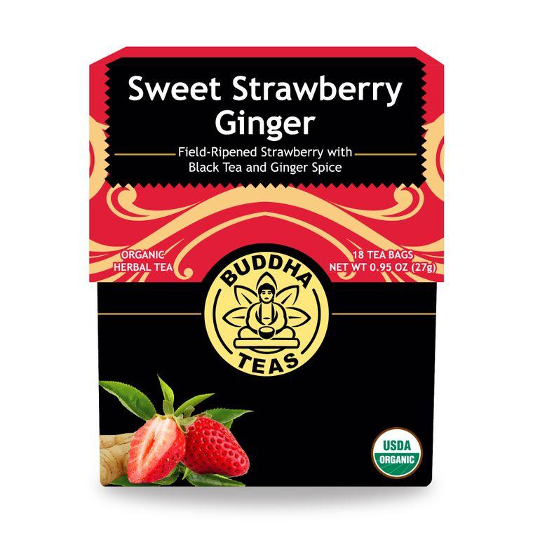 Sweet Strawberry Ginger Tea