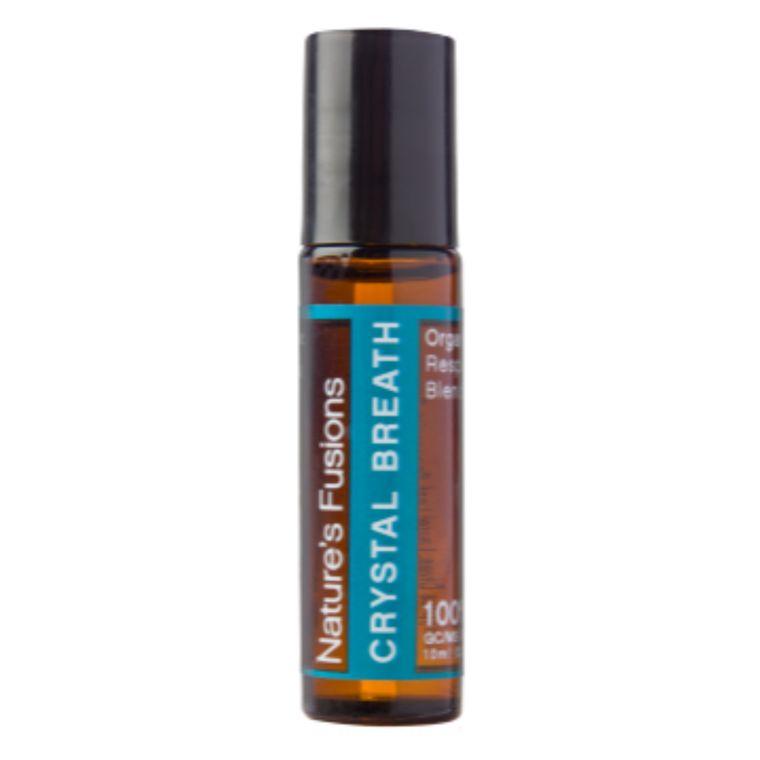 Crystal Breath Roll-On With Organic Coconut Oil -10ml