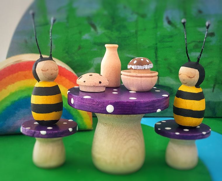 Bumblebee Picnic Set