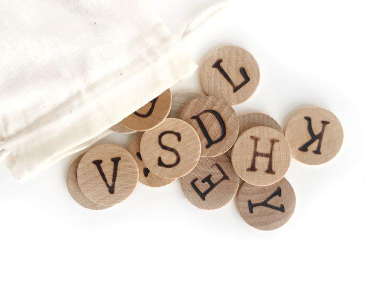 Alphabet Coins