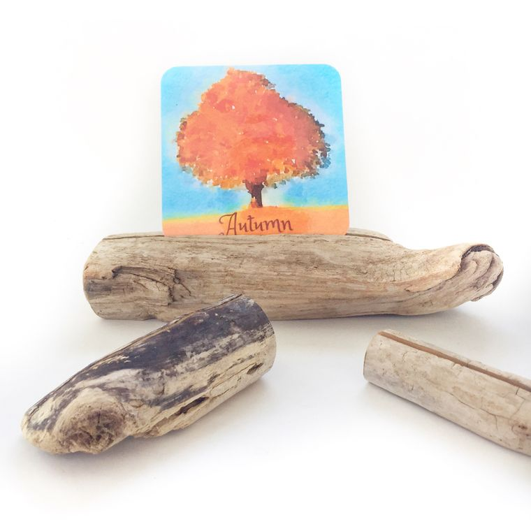 Driftwood Card Holder