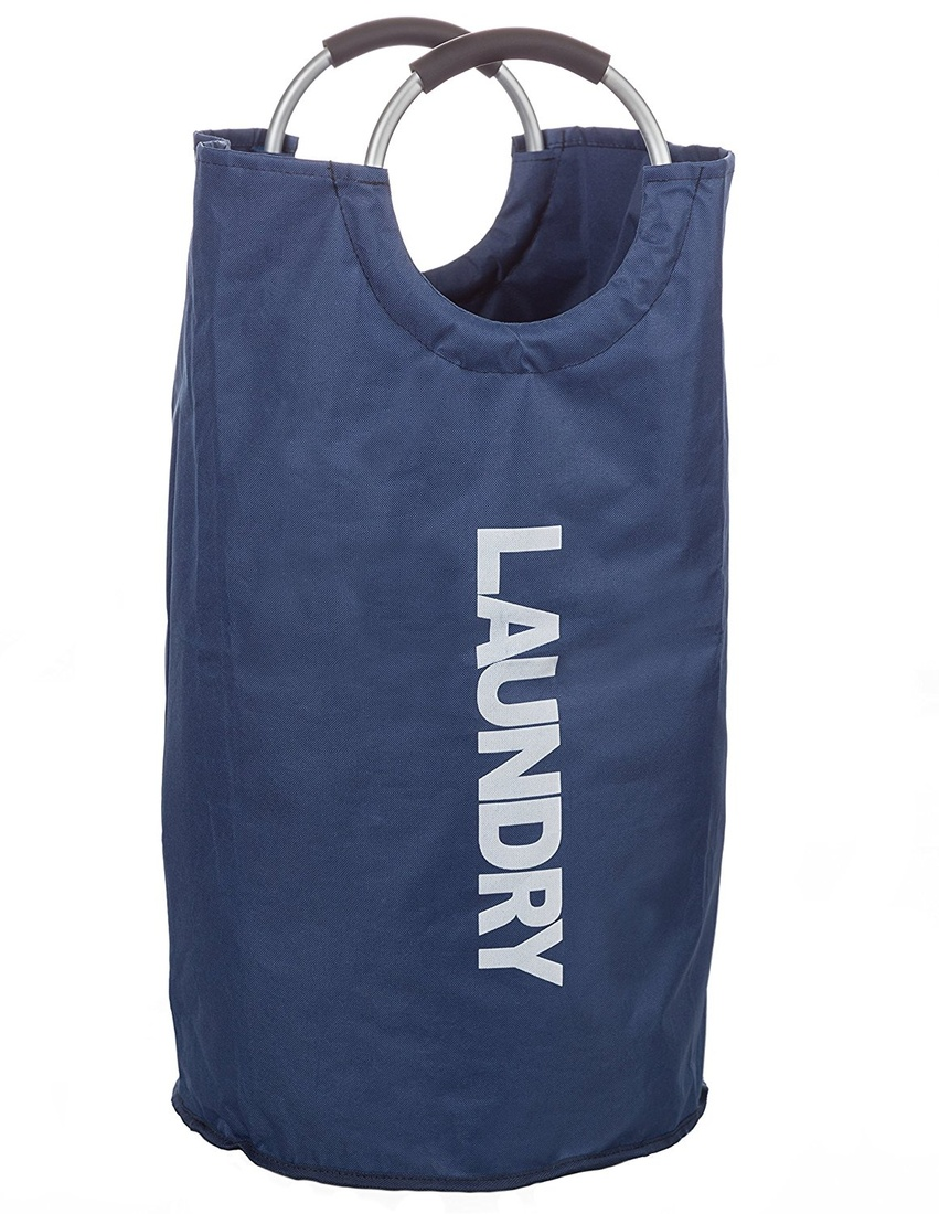 Laundrymate Extra Large Capacity Laundry Bag - With 2 Coin Pocket, Durable Strong Material Foldable Laundry Sack For College, Dorm And Apartment Dwellers Collapsible Laundry Bag